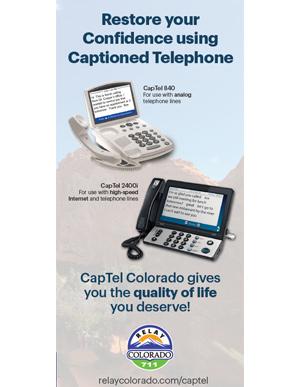 CapTel Brochure for Senior Citizens